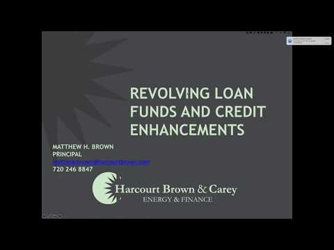 Revolving Loan Funds and Loan Loss Reserves