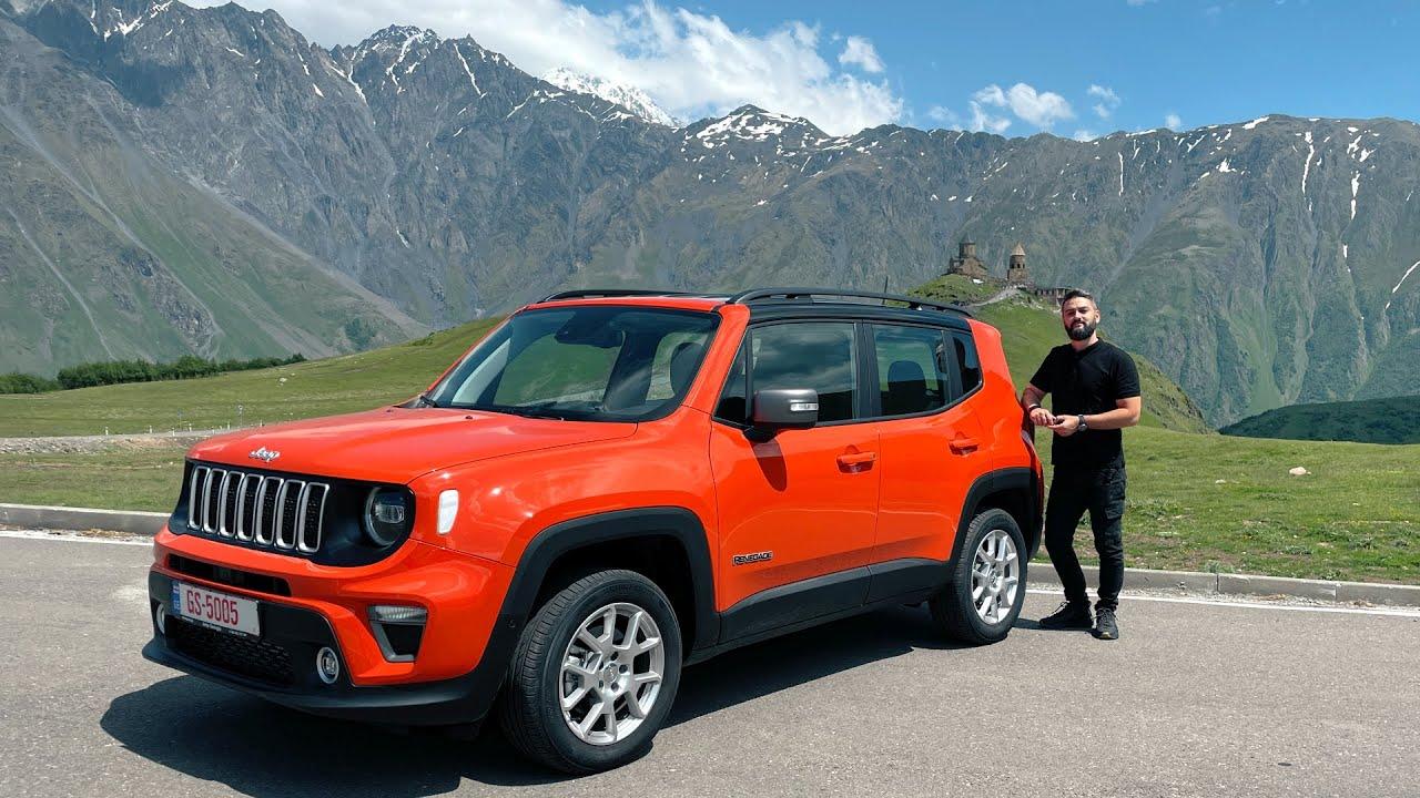 უტდ – ამბოხებული Jeep Renegade – ულამაზეს ყაზბეგში!
