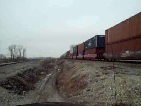 BNSF stack train 2..WB Junction outside carrollton, mo