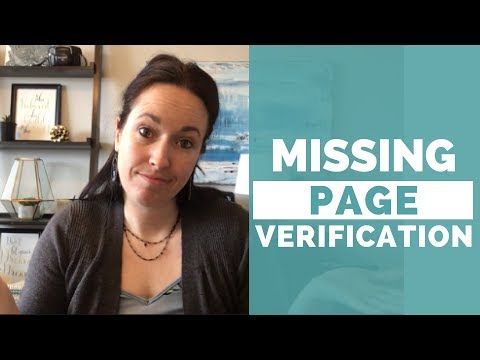 What To Do When Your Facebook Page Doesn't Have The Page Verification Option