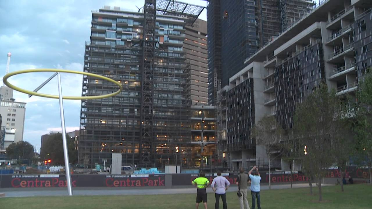 One Central Park S Spectacular Heliostat Takes Shape At