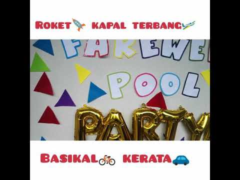 Kelas Roket, Kapal Terbang, Basikal & Kereta 2018 | Farewell Pool Party