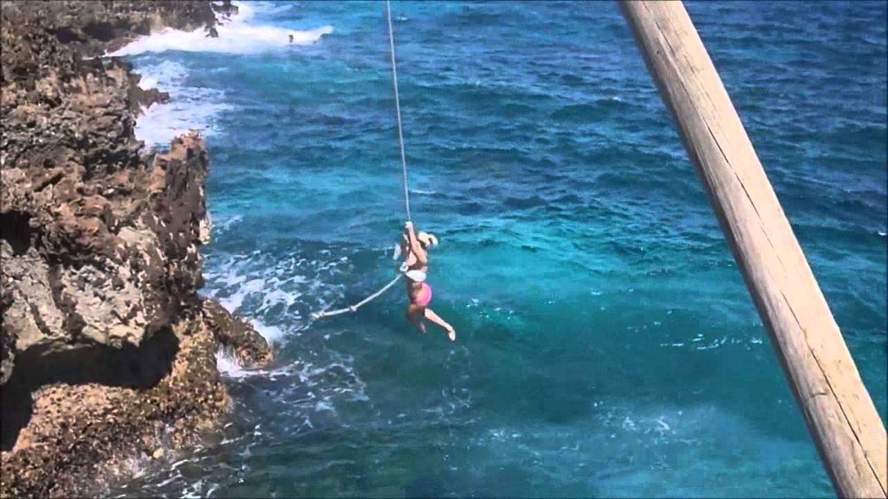 Roatan Rope Swing