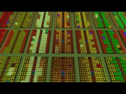 Minecraft IC2 IndustrialCraft Agriculture Crop Guide ep 2 Crop Matron Weedex