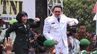 Berita 6 Oktober 2015 VIDEO Ahok Joget Goyang Dumang Bikin Tentara Ngakak