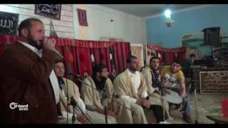 حفل زفاف جماعي ل 55 عريسا في مدينة الرستن