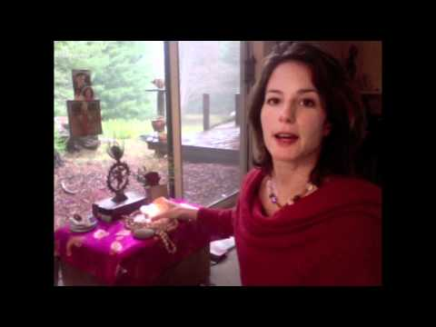 Veronica's Sacred Space and 5 Tips to Creating Your Own