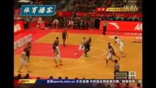 The very worst basketball sequence ever (2012 CBA All-Star Game)