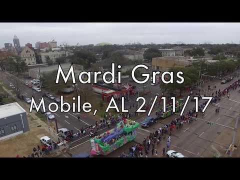 Mobile, AL Mardi Gras Parade