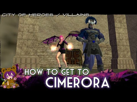 City Of Heroes/Villains - How To Get To Cimerora (Midnight Squad Badge)