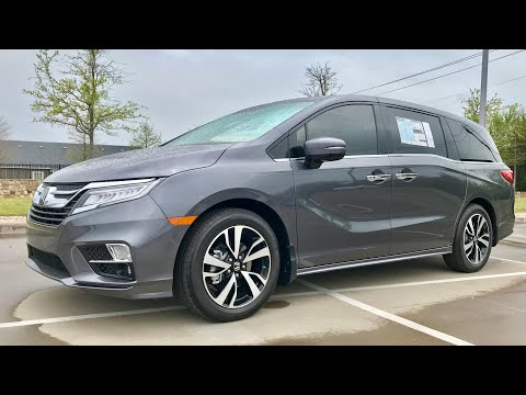 HANDS ON 2018 Honda Odyssey Elite Review