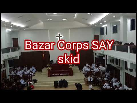 Corps Cadet and SAY special item at Bazar Corps, Aizawl, India
