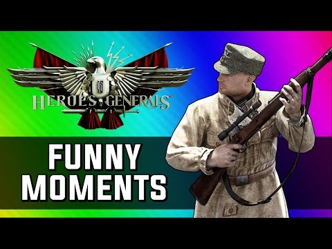 Funniest World War 2 Game Ever! (Heroes and Generals Funny Moments)