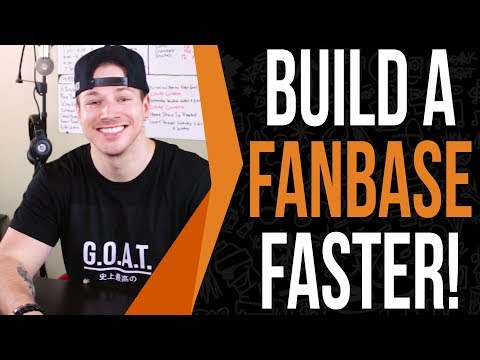 How Smart Artist Grow Fan Bases Faster (Life Changing Video)