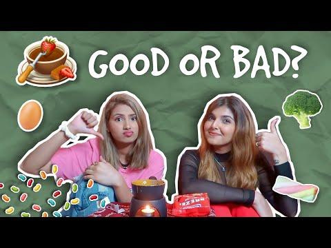 GOOD/BAD *chocolate fondue