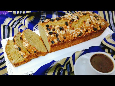 كايك-الدرع-او-خبزة-الدرع-بطريقة-بسيطة---cake-au-sorgos🌾🌾