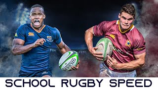 The Devastating Speed Of South African Schoolboy Rugby Players