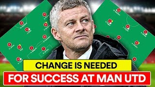 CHANGE IS NEEDED NOW AT MANCHESTER UNITED