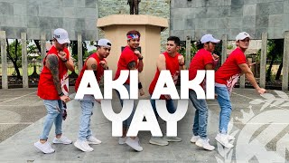 Download lagu AKI AKI YAY (TIKTOK VIRAL) by Zhafran Maulana | Dance Fitness | TML Crew Jay Laurente