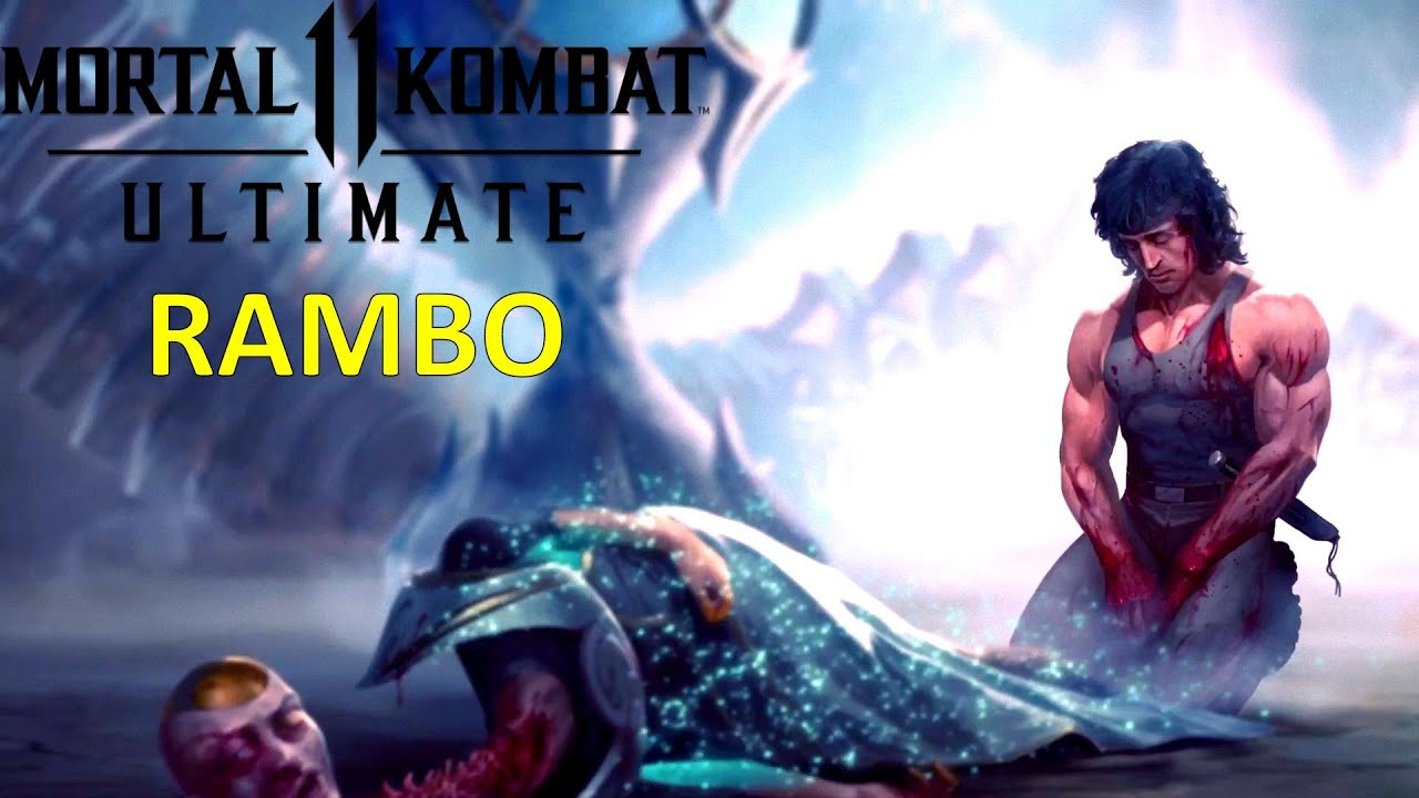 MK11: RAMBO / Final de Historia / LATINO / Mortal Kombat 11 Ultimate