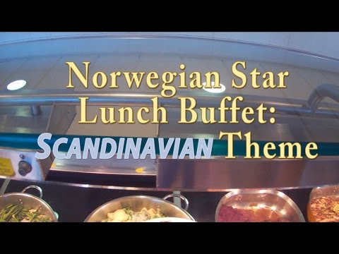 Norwegian Star Scandinavian Lunch Buffet