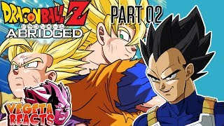 Vegeta Reacts To Dragon Ball Z Abridged: Episode 60 - Part 2 - #DBZA60 | Team Four Star (TFS)