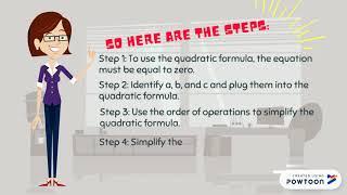 Fórmula Cuadrática