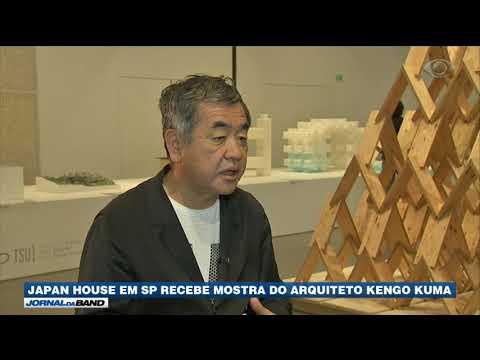 SP: Japan House recebe mostra do arquiteto Kengo Kuma