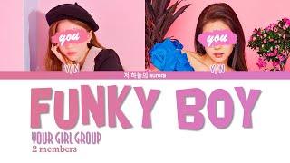 your girl group (2 members) - Funky Boy [MAMAMOO 마마무] | colo…