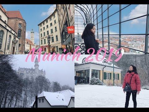 MUNICH TRAVEL VLOG | Winter 2019 | München City & Day Trip To Neuschwanstein Castle!!!