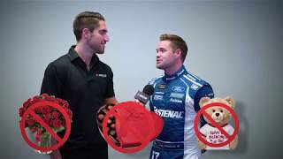 Nascar Drivers Celebrate Valentine'S Day