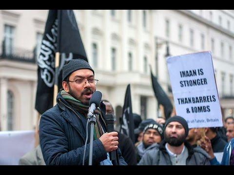 Aleppo Demonstration (UK) - Abu Yusuf Highlights