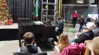 Robert plays Dance of the Reed Flutes (Tzaichovsky) & Elven Dance (Grieg)