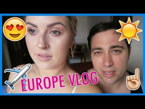 EUROPE VLOG! ✈️ Tomorrowland 2018, Spain, France, Switzerland, Germany, Netherlands, Belgium!