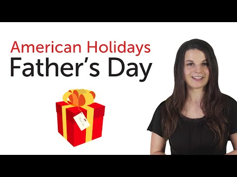 American Holidays - Father's Day