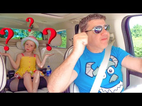 Nastya and dad - funny stories for children