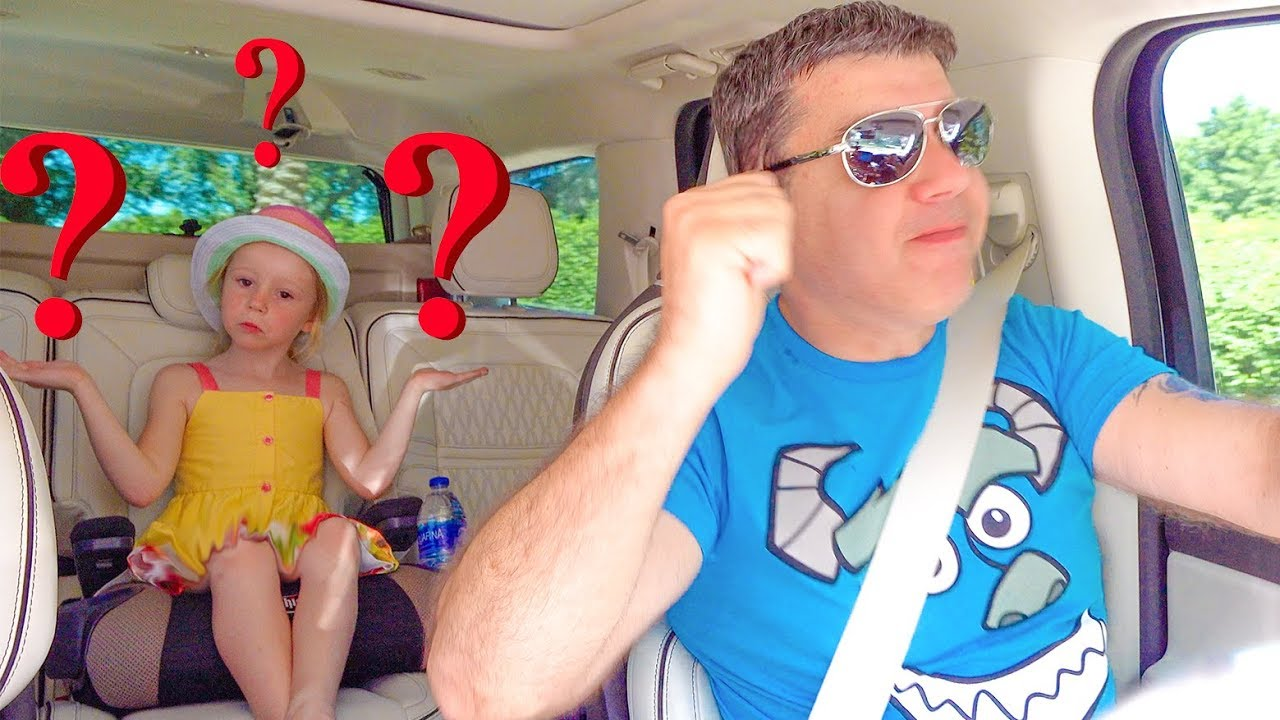 Настя и папа - смешные истории для детей