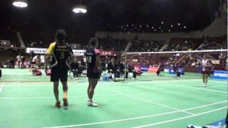http://badland.jp/ 2011全日本総合バドミントン選手権大会準決勝.