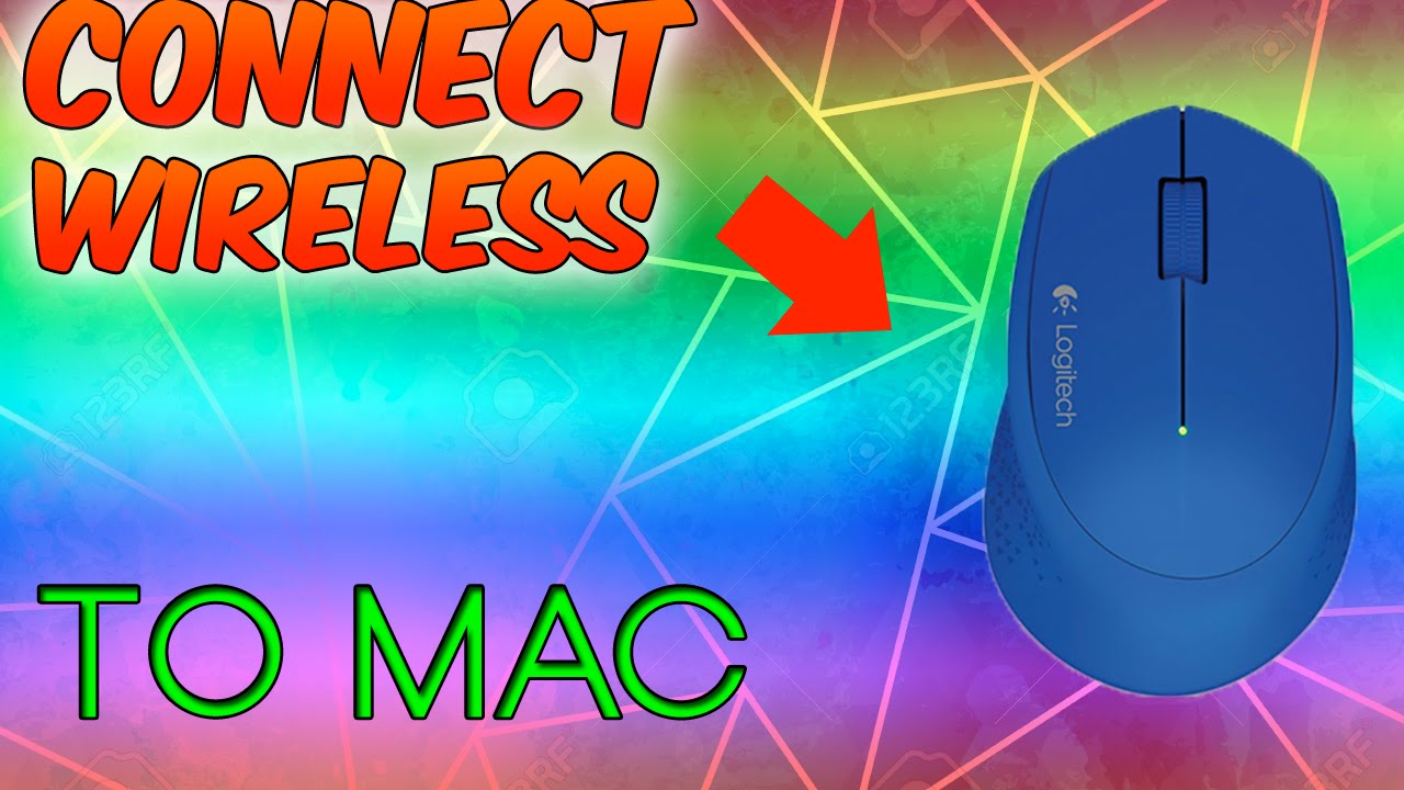 How To Connect Your Wireless Mouse To Mac Youtube
