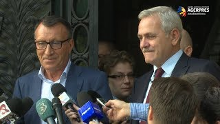 Stănescu, propus la Dezvoltare: Sunt mândru de prietenia cu domnul preşedinte Dragnea