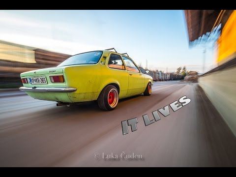 THE AWAKENING Opel kadett c runs after winter break - stock engine racing exhaust