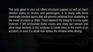 The Importance of Auto Glass Repair