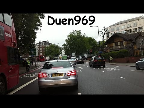 London Streets (565.) - Regent´s Park - Swiss cottage - Brent Cross - Middlesex University