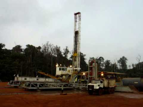Rig 43 Gabon in action