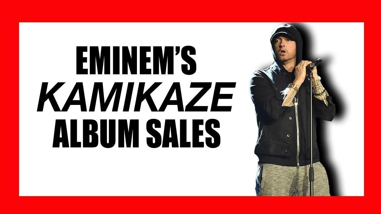 Eminem's Surprising 'Kamikaze' Album Sales