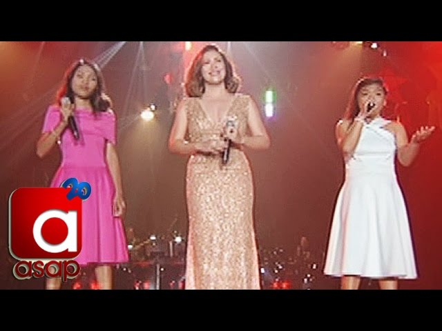 "ASAP: Angeline Quinto sings ""Narito Ako"" with ASAP One Lucky Day Fans"