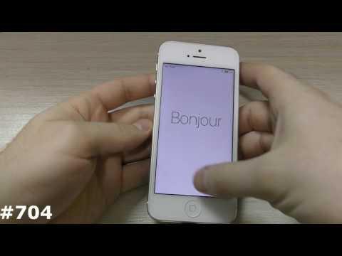 Как сбросить айфон 4s до заводских настроек через itunes