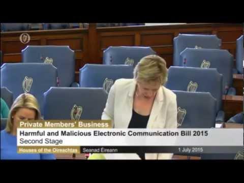 Harmful And Malicious Electronic Communications Bill 2015 July 2015
