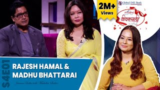 Love story of Rajesh Hamal and Madhu Bhattarai | Jeevan Saathi with Malvika Subba Season 04