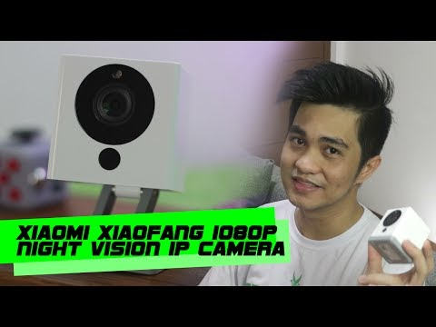 Xiaomi Xiaofang 1080p Night Vision Smart IP Camera Review | App Tutorial